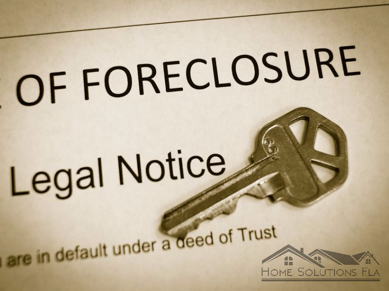 Foreclosure notice of default in florida– what is it?
