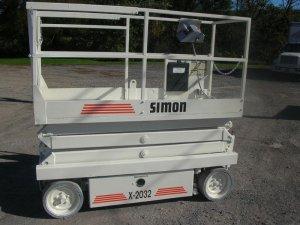 simon scissor lifts for rent klamath falls