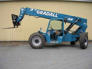 Gradeall Forklift