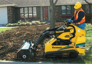 compact skidsteer for rent
