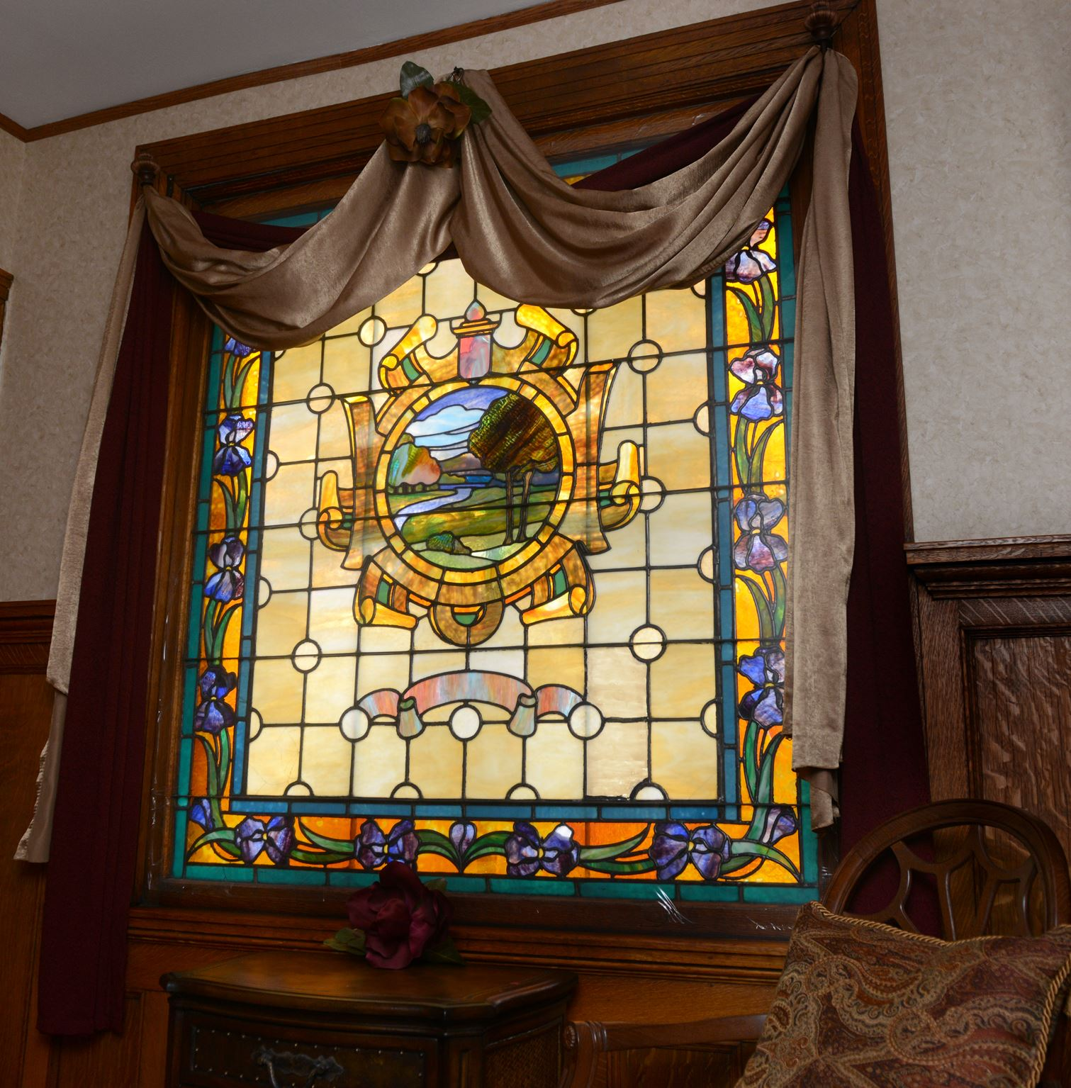 Stained-glass and the 'Pittsburgh potty'