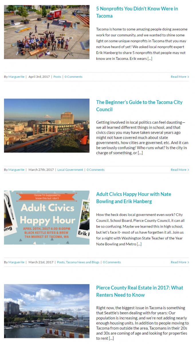 real estate blogging - example 2
