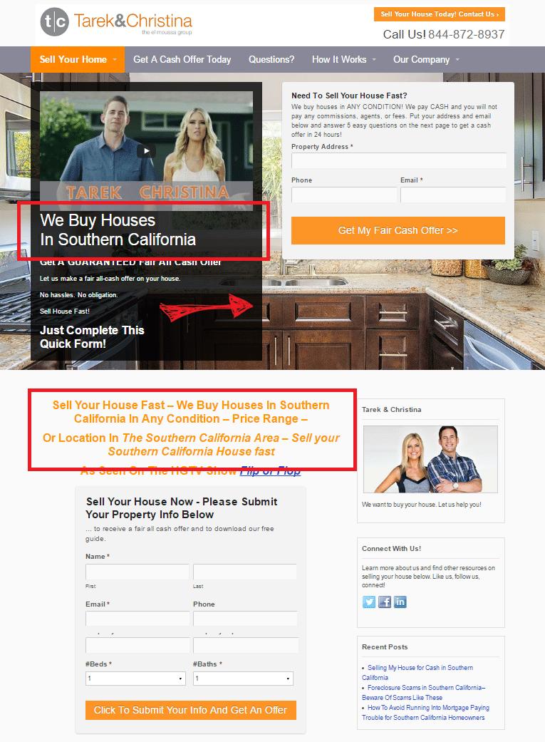 tcbuyhouses homepage